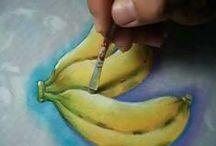 Aprendendo a pintar / Lições de Pintura  / by Mirela Gardenal