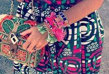 Bohemian Fashion / Boho fashion. Gypsy fashion. Floral boho clothes.