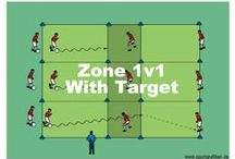 SKILL BUILDING SOCCER DRILLS / Find the advice, tips and soccer drills you need to possess great technical skills for your team. They are especially designed to improve players skills in areas such as dribbling and ball control which also build that much needed confidence.