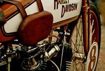 HD / La passion de la bonne vieille Harley Davidson..