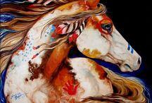 Horse Artwork / by Crystal Takemoto