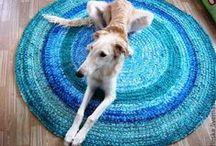 Crochet rug. Carpet. / My favourite crochet rugs!