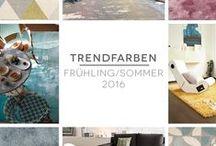 Trendfarben für Frühling und Sommer