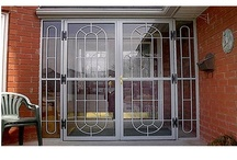 Door Security Bars ,Gate and Grilles. / We supply various types, models and sizes of door security bars , gates and grilles for home and business