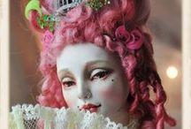 Art Dolls & dollhouses / Ooak dolls - bambole - poupées
