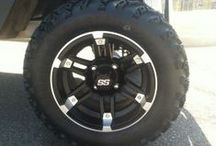 Golf Cart Tires Rims & Wheels