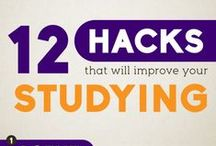 Study Tips / We hope this board provides you with the tools needed to ace those final exams!