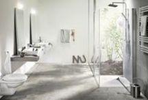 Moodboard #2 - Nordiskt badrum med trä