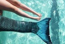 Mermaid tail / Mermaid tail & mermaid costume