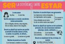 """Infografías para la clase de E/LE / Infografías """"caseras"""" elaboradas gracias a Piktochart para la enseñanza del español como lengua extranjera."""