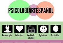 Actividad psicología + arte+ espaÑol