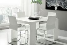 Dining Tables / We represent our collection of minimalist, modern dining tables. Fixed and extendable tables.