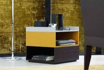 Bedside Cabinets and Complements / 100% made in Italy furniture. Contemporary bedside cabinets.