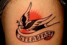 BIRDS & HEARTS tattoos