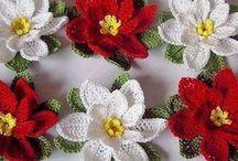 Hekla Blomster / Crochet Flowers