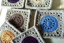 Hekla ruter / Crochet Squares