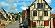 Normandie - Dangu / Dangu est un village de l'Eure bordé par la rivière de L'Epte, dans le Vexin Normand et de la vallée de l'Epte. Anciennes maisons du 16è siècle. Abrite un château néoclassique