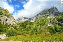 Savoie - Col de la Vanoise / Le col de la Vanoise est un col des Alpes françaises culminant à 2 522 mètres, en Savoie. Situé sur le sentier GR55, il permet l'accès entre Pralognan-la-Vanoise et Termignon