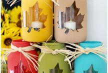 handicraft / Βαζάκια με κεριά
