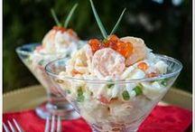 SEA FOOD RECIPES/ SALADS