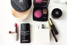 Make up/ makeup products.
