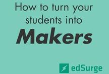 Makers Unite / Movement for the adoption of more hands-on, creative activities inside and outside of class.