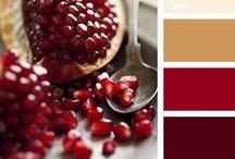 Red & Burgundy Shade's / by Ne-ne Flournoy