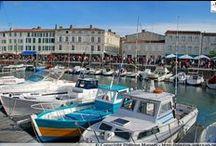 Charente-Maritime - Ile de Ré / L'île de Ré est une île côtière de l'océan Atlantique, face à La Rochelle (Charente-Maritime). Elle est reliée au continent par le pont de l'île de Ré