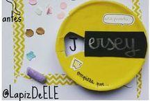 DIY ideas for teaching languages / Recicla, crea, inventa, recorta, pega, monta... y no te olvides de aprender un idioma ;)