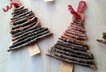 Navidad / Este tablero contiene adornos navideños. Navidad