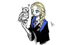 Frozen Harry Potter school
