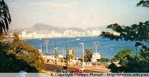 Mexique - Baie d'Acapulco / Cernée par une impressionnante chaîne de montagnes, la baie d'Acapulco offre à ses hôtes une quinzaine de plages de sable doré sous le soleil mexicain. Ce séjour s'est effectué dans le cadre d'un réveillon de l'an en décembre 1998