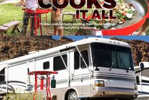 RV -ing / FireDisc® portable cookers are the ultimate RV co-pilot to rely on to cook up savory, restaurant-quality meals to enhance every activity imaginable as you hit the road. Don't settle for boring meals just because you are on the go. Your FireDisc® gourmet roadie kitchen bakes, blackens, boils, broils, cooks, deep fries, grills, scrambles, sautés, sears and steams – enabling seamless meals from breakfast to dinner. Yes, it can cook that too…