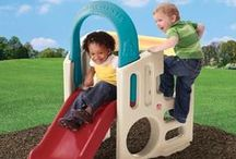 Kids Slides and Play Climbers / Outdoor toys for kids including slides and backyard play climbers for the ultimate in outdoor child play and backyard adventure / by BIGTOYexpress