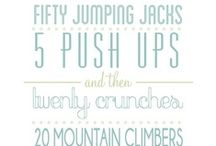 Wedding Fitness / Lots of tips on diet and fitness (for him & her) to help get you in shape for the Big Day