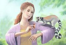 Digital paintings from Adrienn Ecsedi / Digital fantasy paintings and pencil drawings of Adrienn Ecsedi - http://adriennecsedi.com