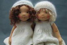 waldorfské panenky