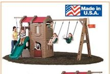 Kids swingsets and playsets / Kids swingsets and playsets / by BIGTOYexpress