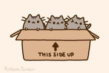 Pusheen the cat!!!!!!!!