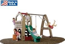 Backyard Kids Play Sets / Made in the USA backyard kids toys for Spring and Summer. / by BIGTOYexpress