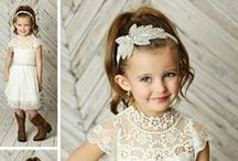 Cute Flower Girl Dresses / Cute Flower Girl Dresses for Weddings | Lace Flower Girl Dresses |  Country Tutu Flower Girl Dresses | Rustic Girls Clothing | Discover the perfect vintage flower girl dress for your daughter. Discover cute tutu and tulle dresses are perfect for every occasion, from holiday parties, weddings, school, baptism, & more! Pair our cute flower girl dresses w/ one of our coordinating wedding headbands. SHOP cute flower girl dresses at http://thinkpinkbows.com/collections/flower-girl-dresses