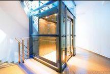Výtahy / Lifts / Komplikované světelné i prostorové podmínky / Complicated light and space conditions