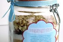 Cookie mix in a jar labels
