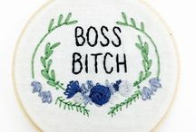 SASSY EMBROIDERY