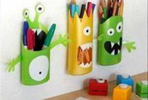 Lasten askarteluja * kids crafts
