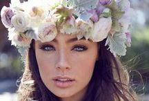 '゚*゚✿ FlowerChild ✿*゚'゚ / Flower crowns, bohemian and bridal inspo