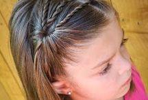 Pienten tyttöjen kampauksia <3 * little girls hair