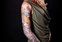 """Tattoo's / Niet gezocht, maar gewoon """"gevonden"""" tijdens de fotoshoots"""
