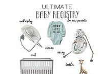 Baby Registry Checklist / Baby Registry Must Have Checklist | Preparing for a new baby is a huge task requiring lots of new stuff. Explore handy checklists designed to help you cover the basic needs of your baby and help you set-up your baby gift registry.