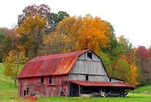 "Barns & Old Buildings / ""you can take the boy out of the farm, but you can't take the farm out of the boy""